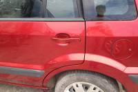 Ford Fusion 2008 ремонт и покраска заднего левого крыла и задней левой двери