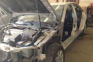 Сложный кузовной ремонт