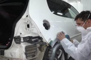 Качественная жестянка и покраска автомобиля в Екатеринбурге.