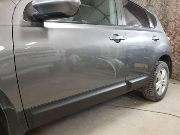Nissan Qashqai 2014 год. Ремонт и окраска дверей.