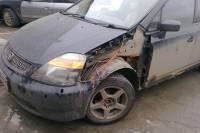Honda Stream 2000 ремонт и покраска переднего левого крыла - 20120714