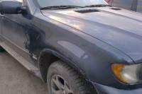 BMW X5 2001 кузовной ремонт заднего крыла, покраска крыла и бамперов 20121017
