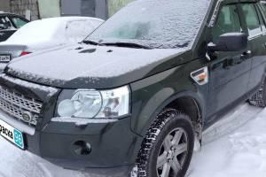 Land Rover Freelander 2 2008 локальный ремонт и покраска передней правой двери в Екатеринбурге 20130104