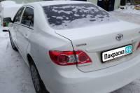 Toyota Corolla 2012 вытягивание заднего левого лонжерона, замена и покраска заднего левого крыла и бампера в Екатеринбурге 20130110
