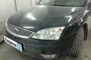 Ford Mondeo 2006 вытягивание заднего фартука, замена и покраска задней крышки багажника и заднего бампера - 20130304