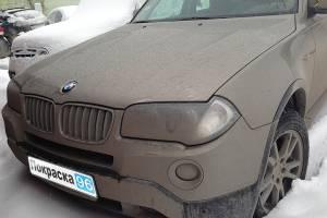 BMW X3 (E83) 2008 ремонт и покраска задней правой арки крыла, задней правой двери и заднего бампера 20130405