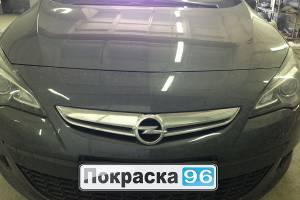 Opel Astra 2012 ремонт и покраска правого порога 20130606