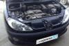 Peugeot 206 2009 ремонт и покраска переднего бампера, капота, заднего правого крыла, ремонт креплений фар 20130712